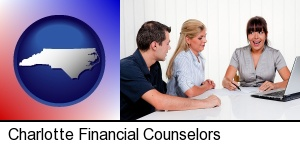 Charlotte, North Carolina - a financial counseling session