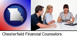 Chesterfield, Missouri - a financial counseling session