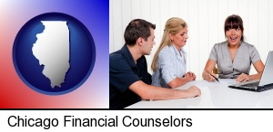 Chicago, Illinois - a financial counseling session