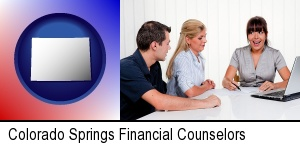 Colorado Springs, Colorado - a financial counseling session