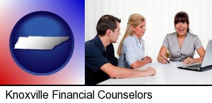 Knoxville, Tennessee - a financial counseling session