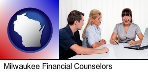 Milwaukee, Wisconsin - a financial counseling session