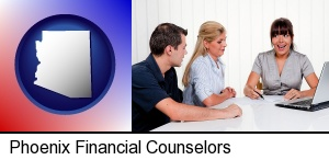 Phoenix, Arizona - a financial counseling session
