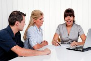 a financial counseling session